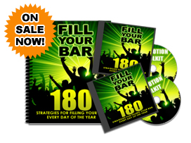 Fill Your Bar Promotion Toolkit